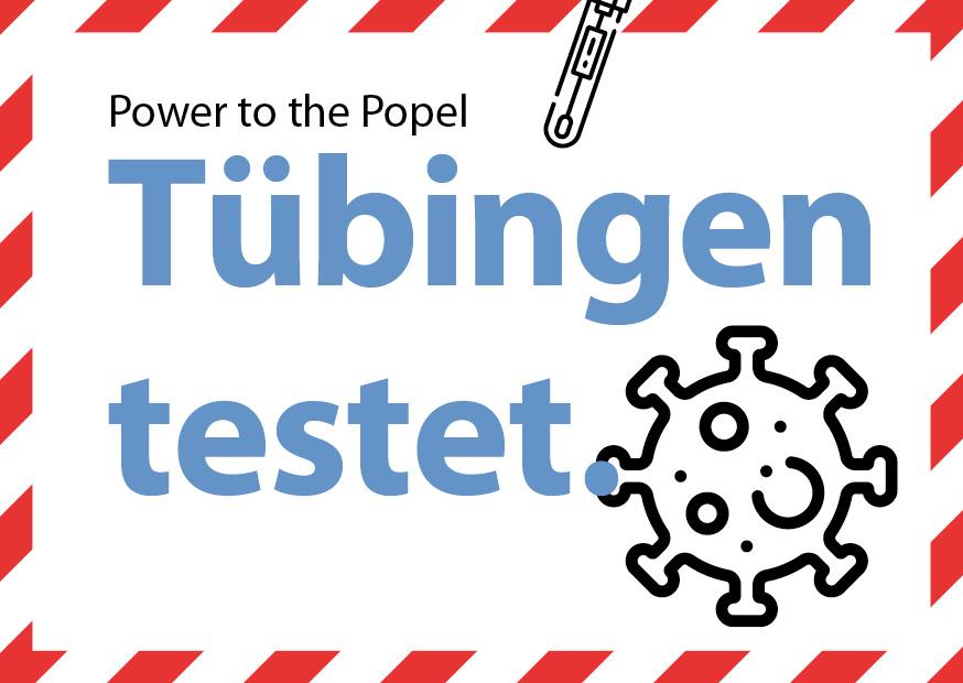 Tübingen testet.